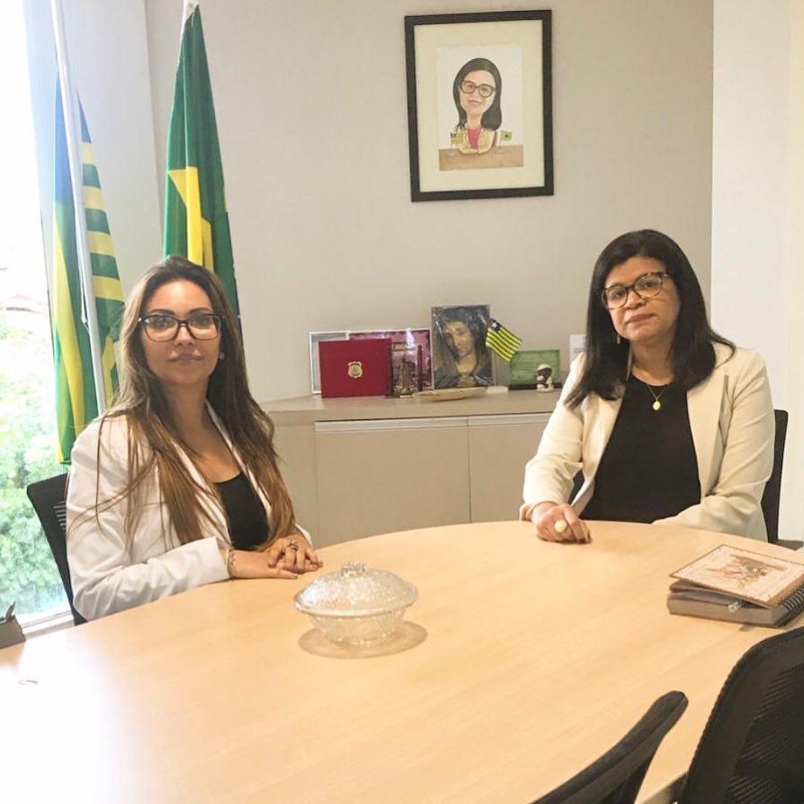 Presidente da APIDEP reúne-se com Defensora Pública-Geral